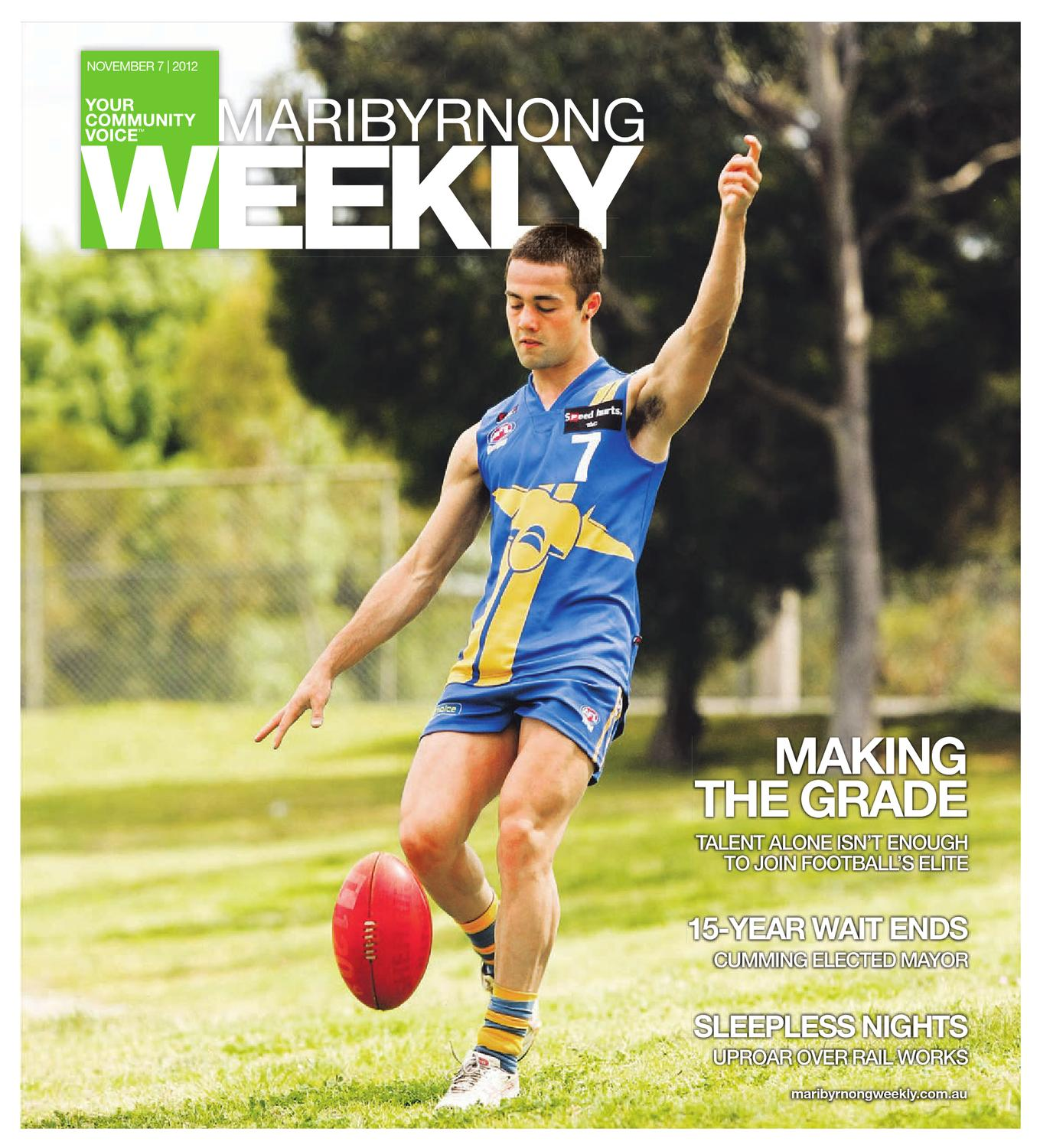 11b4c40f3165 Maribyrnong Weekly 07-11-2012 by The Weekly Review - issuu