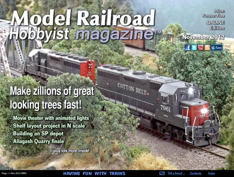 d0a867400df MRH Nov 2012 - Issue 33 by Model Railroad Hobbyist magazine - issuu