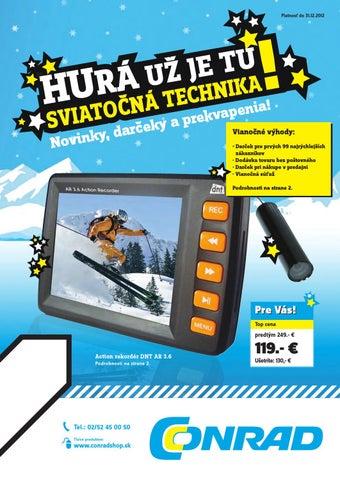 8c5585820 Vianočný katalóg 2012 by Conrad Trade - issuu