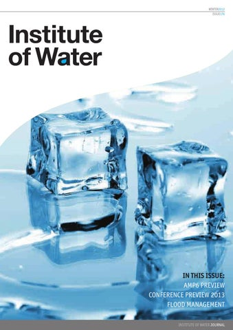 Institute of Water 176 by Distinctive Publishing - issuu