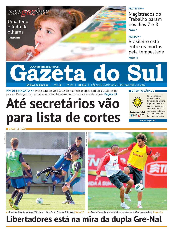 Jornal Gazeta do Sul by Jader Lewis - issuu badb12cd1fa32