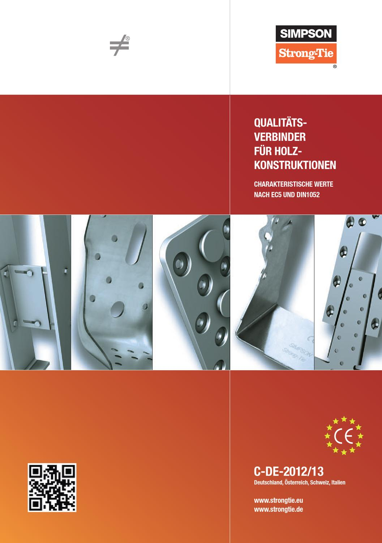 Simpson BTALU160 Balkentr/äger BTALU 160-B Aluminium mit Zulassung