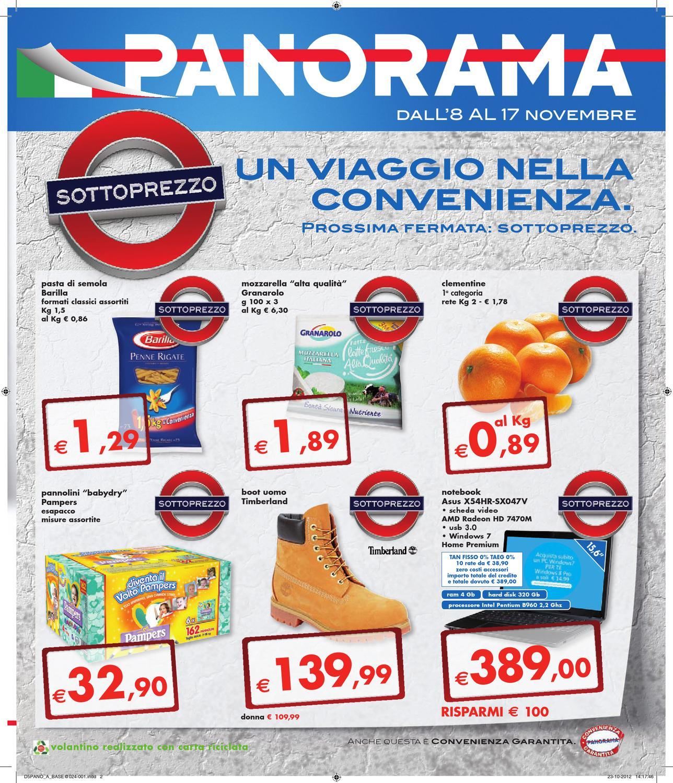 Volantino Panorama 08112012 by Klikkapromo SpA - issuu