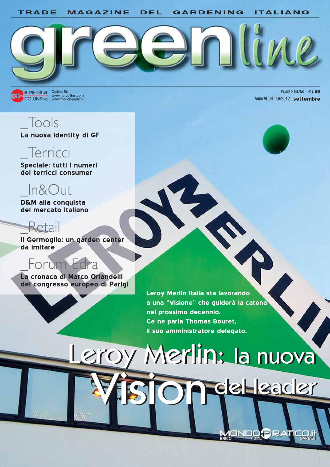 Greenline settembre 2012 by collins srl issuu - Numeri adesivi leroy merlin ...