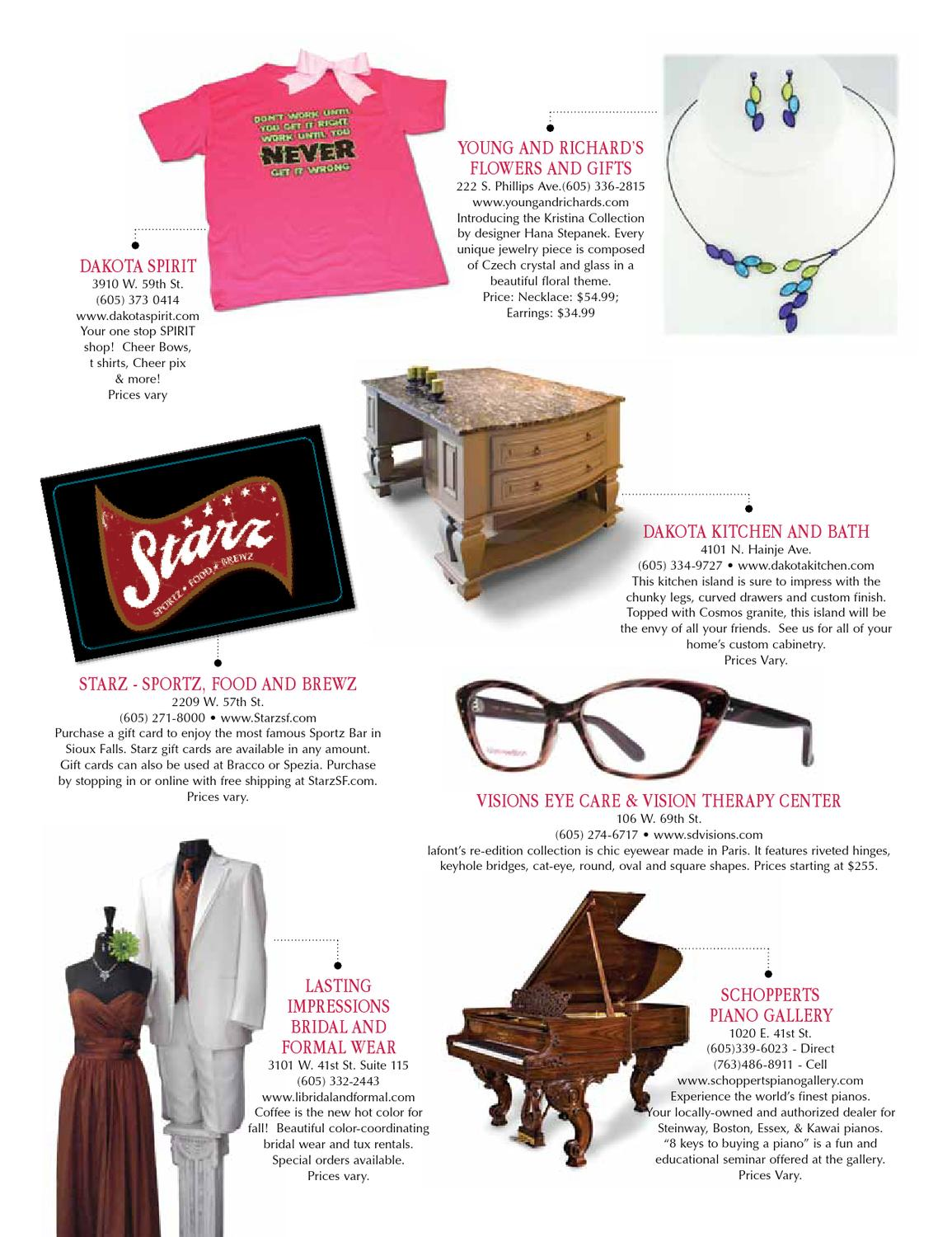 Sioux Falls Woman Magazine Oct -Nov  2012 by Sioux Falls