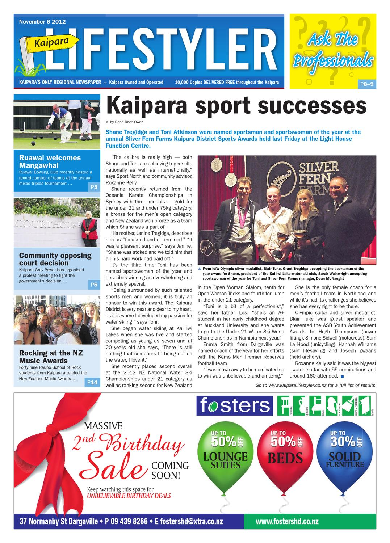 Kaipara Lifestyler, November 6 2012 by Integrity Community