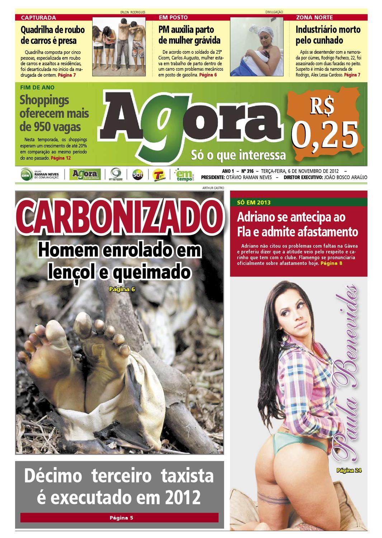 Agora - 6 de novembro de 2012 by Amazonas Em Tempo - issuu af797091b50b5
