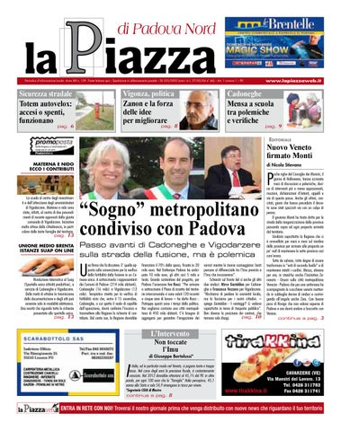 La Piazza di Chioggia - 2012ott n127 by lapiazza give emotions - issuu c3ebeccd41c
