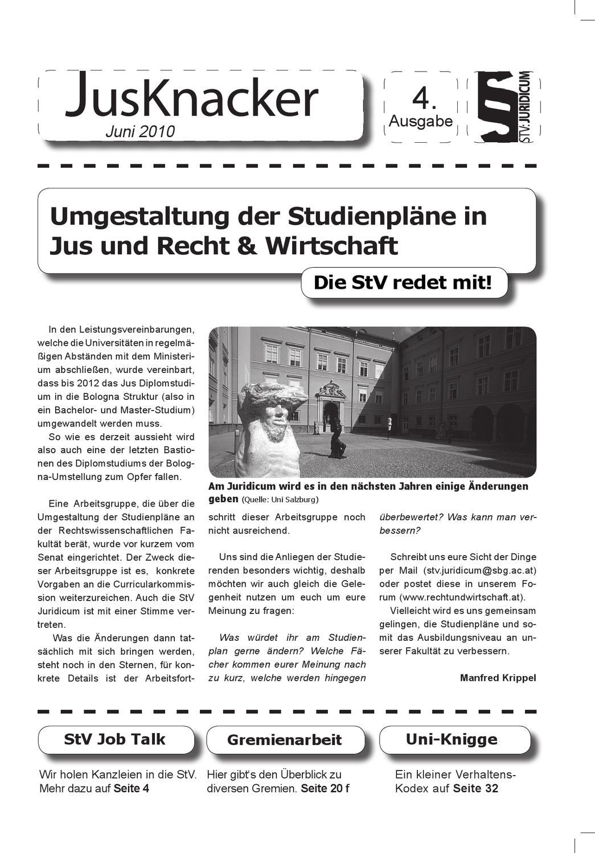 JusKnacker_Ausgabe 4 by Tobias Neugebauer - issuu