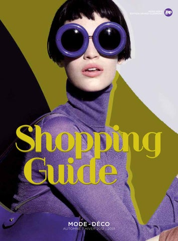 7a29ed5cfa06 Shopping Guide Automne-Hiver 2012-2013 by Zap Editions - issuu
