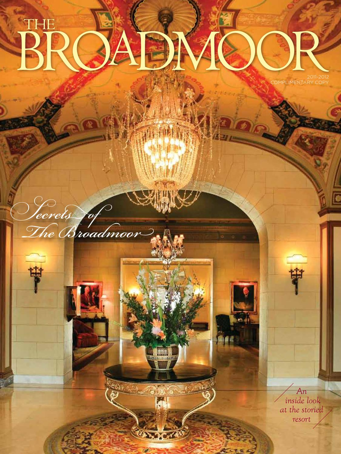 The Broadmoor Magazine 2011 2012 By Hungry Eye Media Issuu