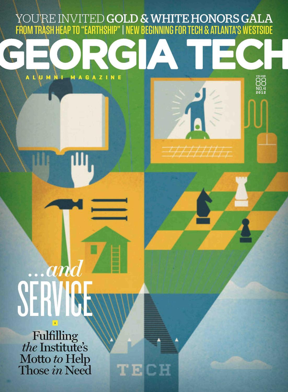 Georgia Tech Alumni Magazine Vol. 88, No. 04 2012 by Georgia Tech ...