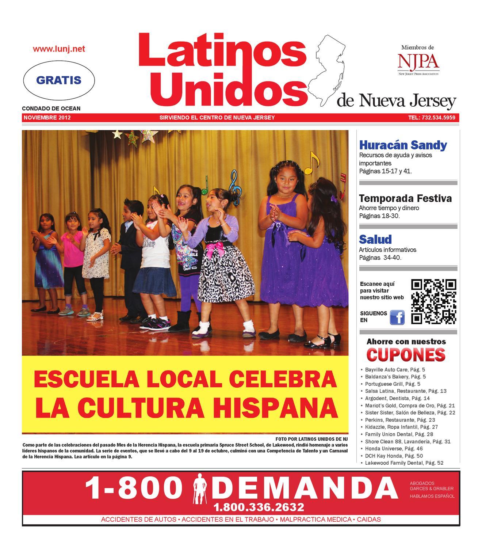 November 2012 OCEAN by Latinos Unidos de NJ - issuu