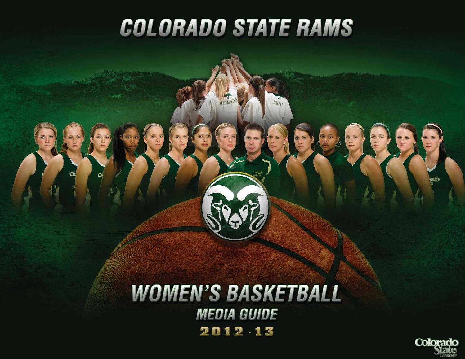 2012 13 women 39 s basketball media guide by colorado state for Conference table 1998 99