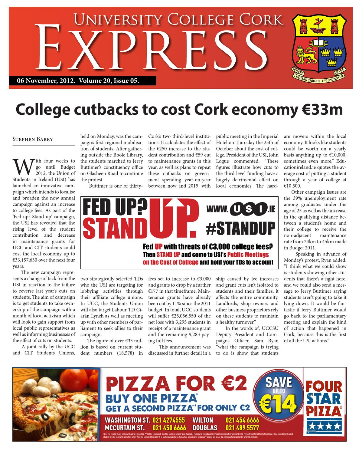 UCC Express Vol 20 Issue 4 by University Express - issuu f24540f7c