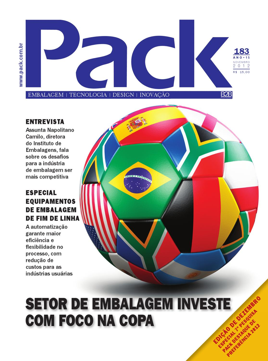 c7adcb55cb4b0 Revista Pack 183 - Novembro 2012 by Revista Pack - issuu