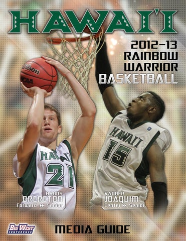 new style 48d9a 6722f 2012-13 Rainbow Warrior Mens Basketball Media Guide by ...