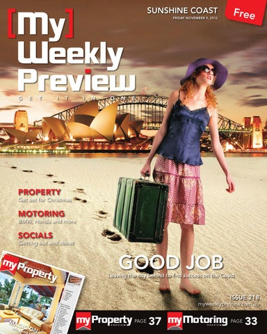 My Weekly Preview Issue 218 November 9 2012 by My Weekly