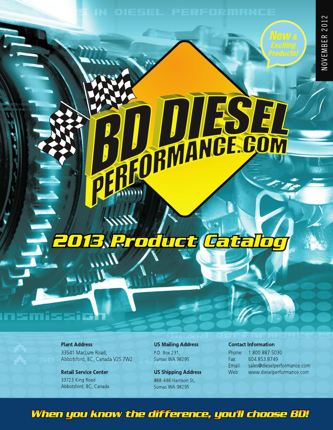 BD Diesel Performance 1071217X Torque Force Converter