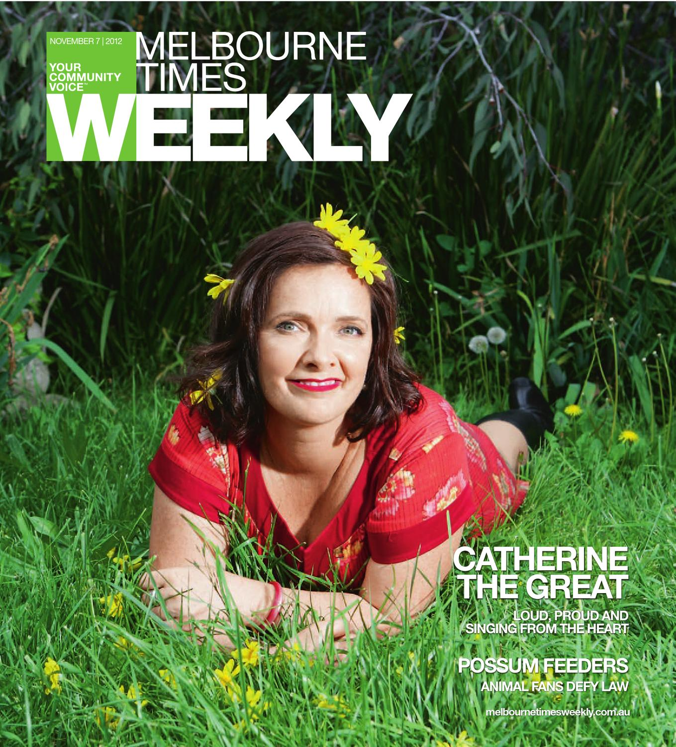 Catherine Deveny >> Melbourne Times Weekly by The Weekly Review - issuu
