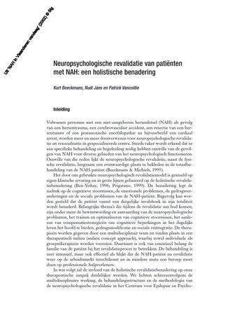 holistische benadering psychologie