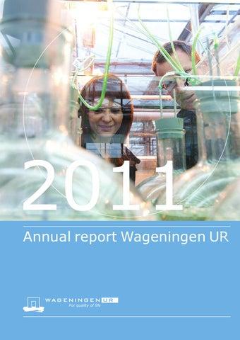 Annual Report 2011 Wageningen UR