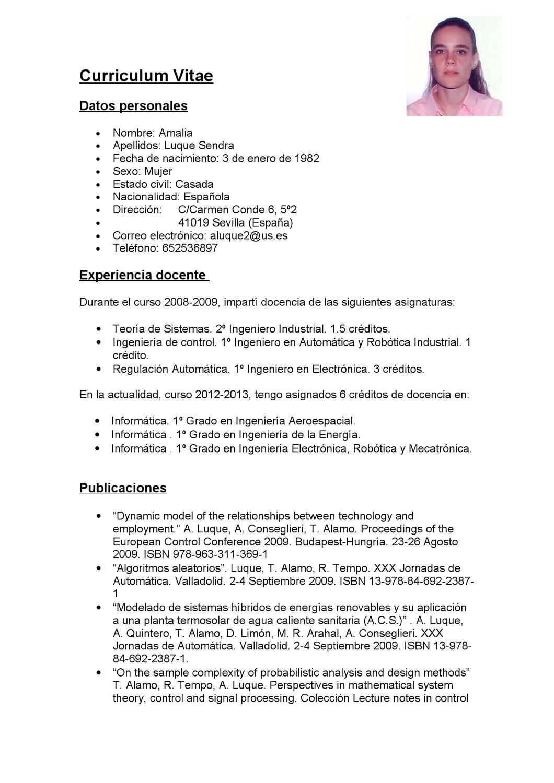 Increíble Currículum De Técnico Automático Friso - Colección De ...