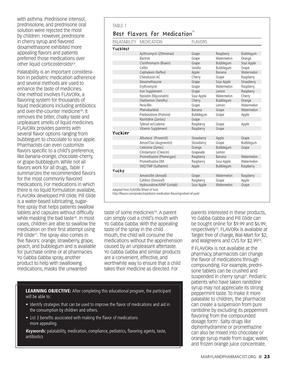 Maryland Pharmacist l Fall 2012 by Graphtech - issuu