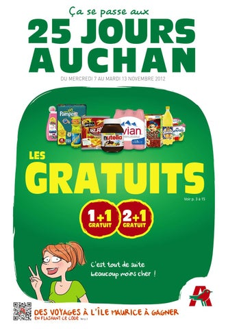 Auchan Catalogue 7 13 Novembre 2012 By Promocatalogues Com Issuu