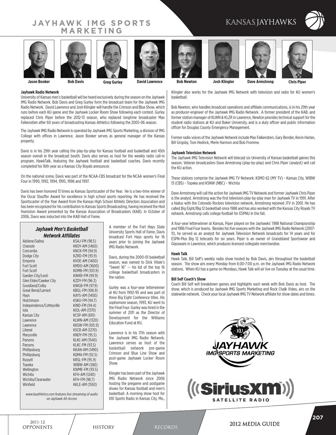 2012-13 Kansas Men's Basketball Media Guide by Kansas Jayhawks - issuu