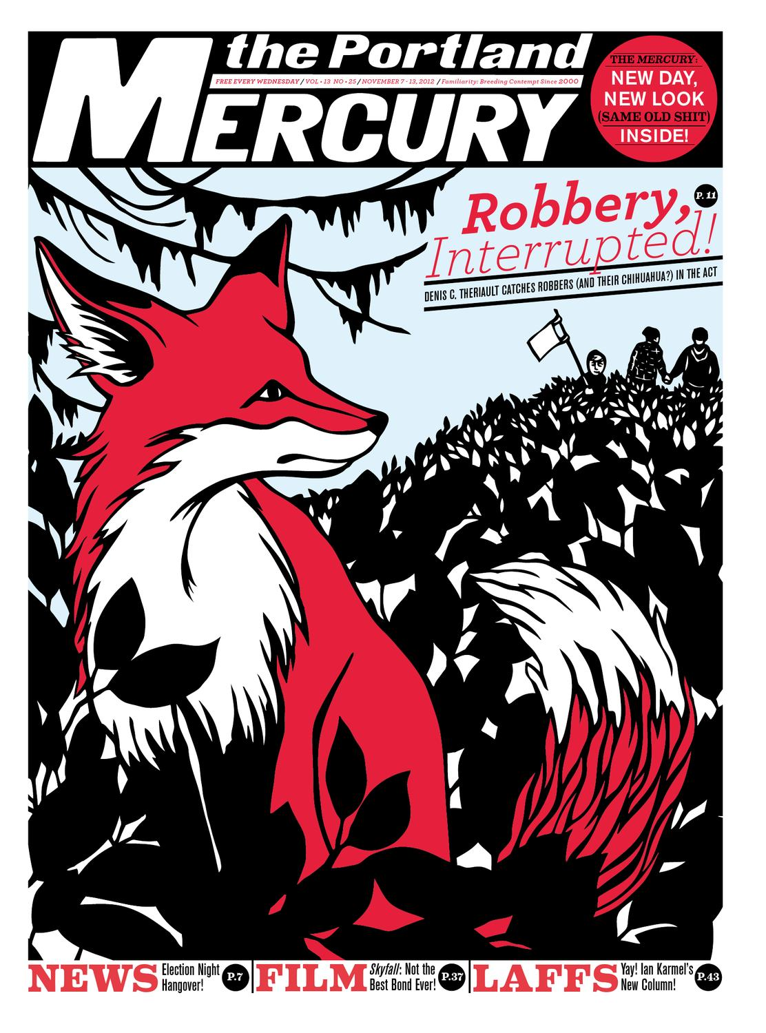 The Portland Mercury November 7 2012 Vol 13 No 25 by