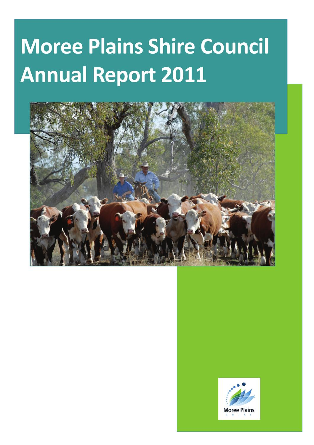Moree Plains Shire Council Annual Report 2011 by Moree