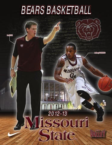 2012-13 Missouri State Men s Basketball Guide by Missouri State ... 38793b673