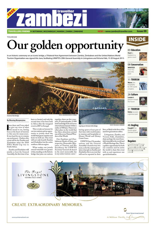 Zambezi Traveller Issue 09 by Zambezi Traveller - issuu