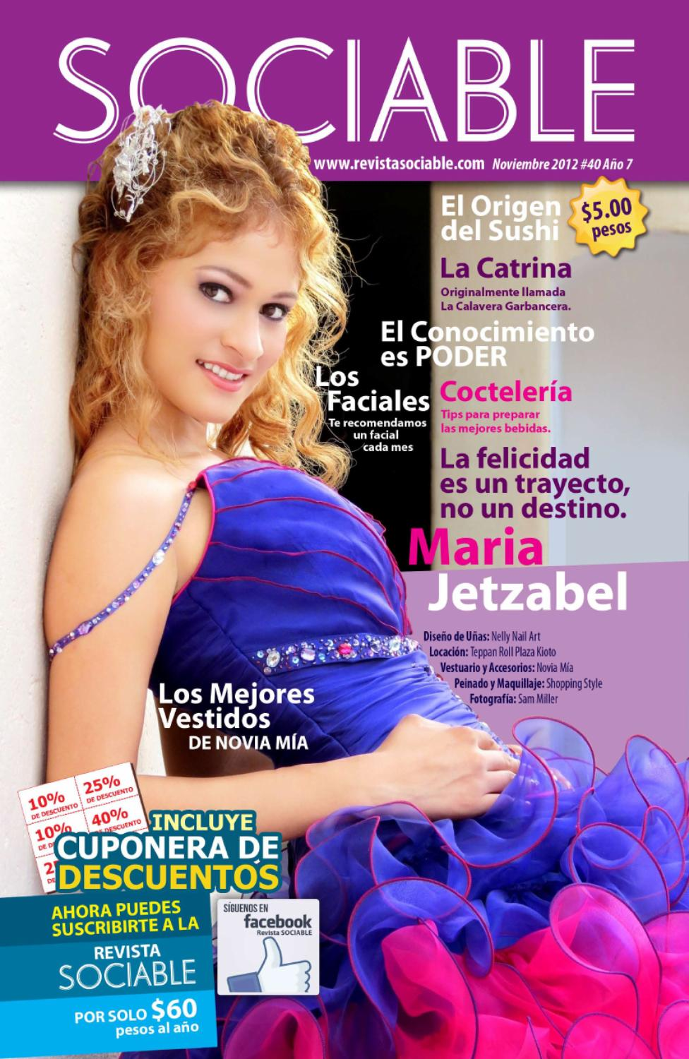 SOCIABLE Noviembre 2012 by Revista SOCIABLE - issuu