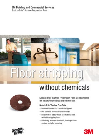 SPP Pad from 3M Stripping Without Chemicals by Janitorial