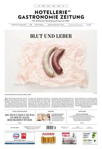 HetG-Zeitung 35/2012 by Hotellerie_Gastronomie_Verlag - issuu