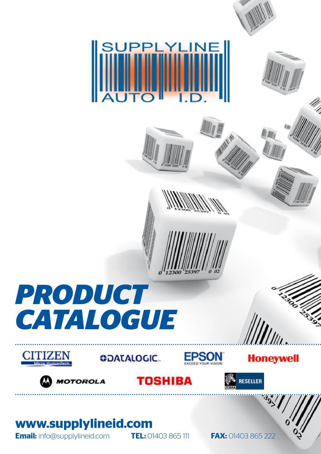 Supplyline Auto ID - Product Catalogue by BritWeb - issuu