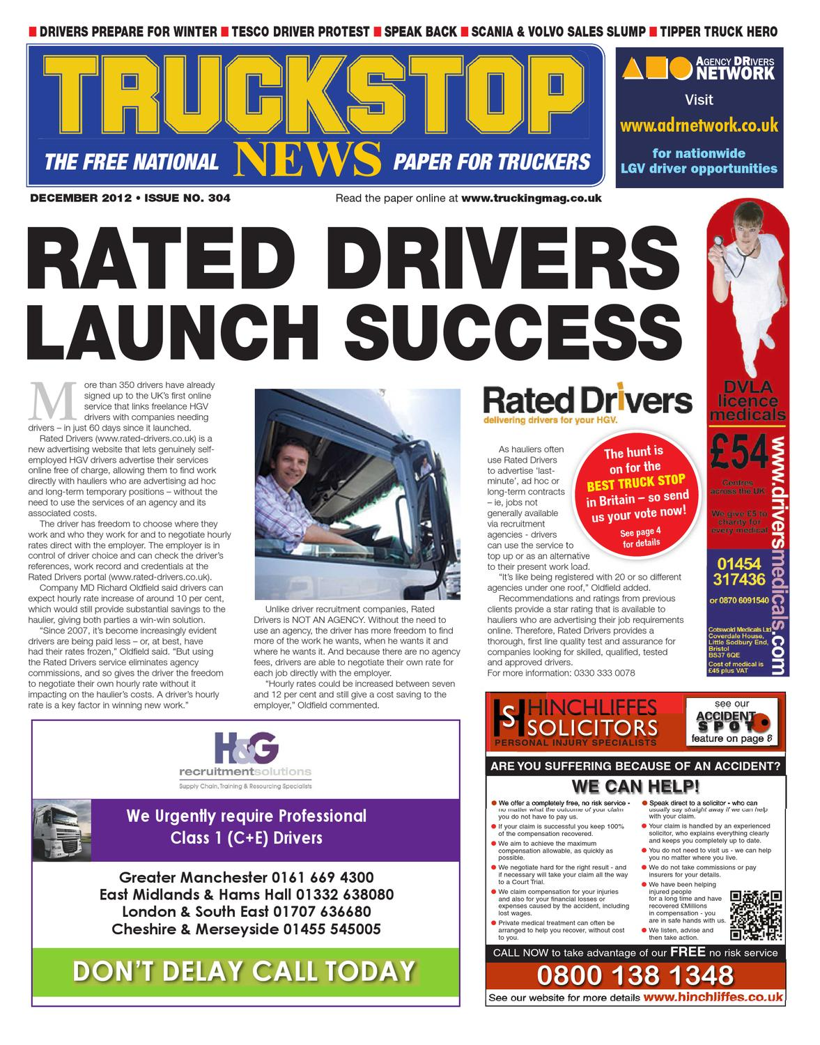 open sollicitatie bristol TruckStop News Decmber 2012 by KELSEY Publishing Ltd   issuu open sollicitatie bristol