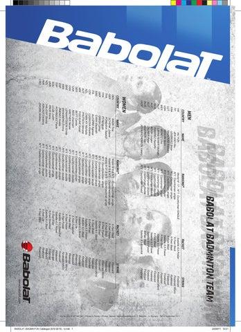 /wei/ß Babolat Challenge HiLife Badminton Saite Set 0,85/mm/