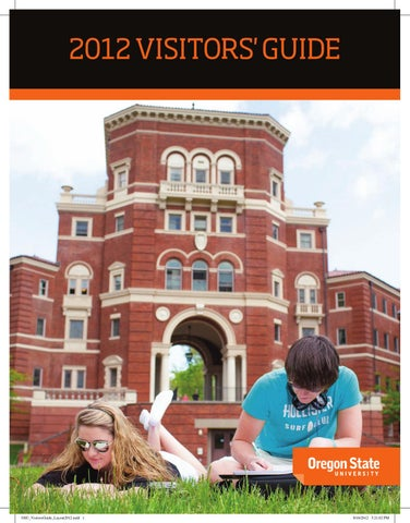 2012 OSU Visitors Guide by Mid-Valley Media - issuu Kec Oregon State University Map on