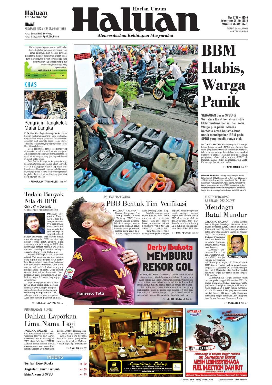 Haluan 09 November 2012 By Harian Issuu Produk Ukm Bumn Songket Durian