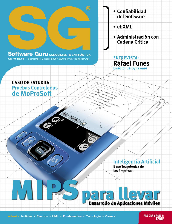 SG #05 (Septiembre - Octubre 2005) by Revista Software Guru - issuu