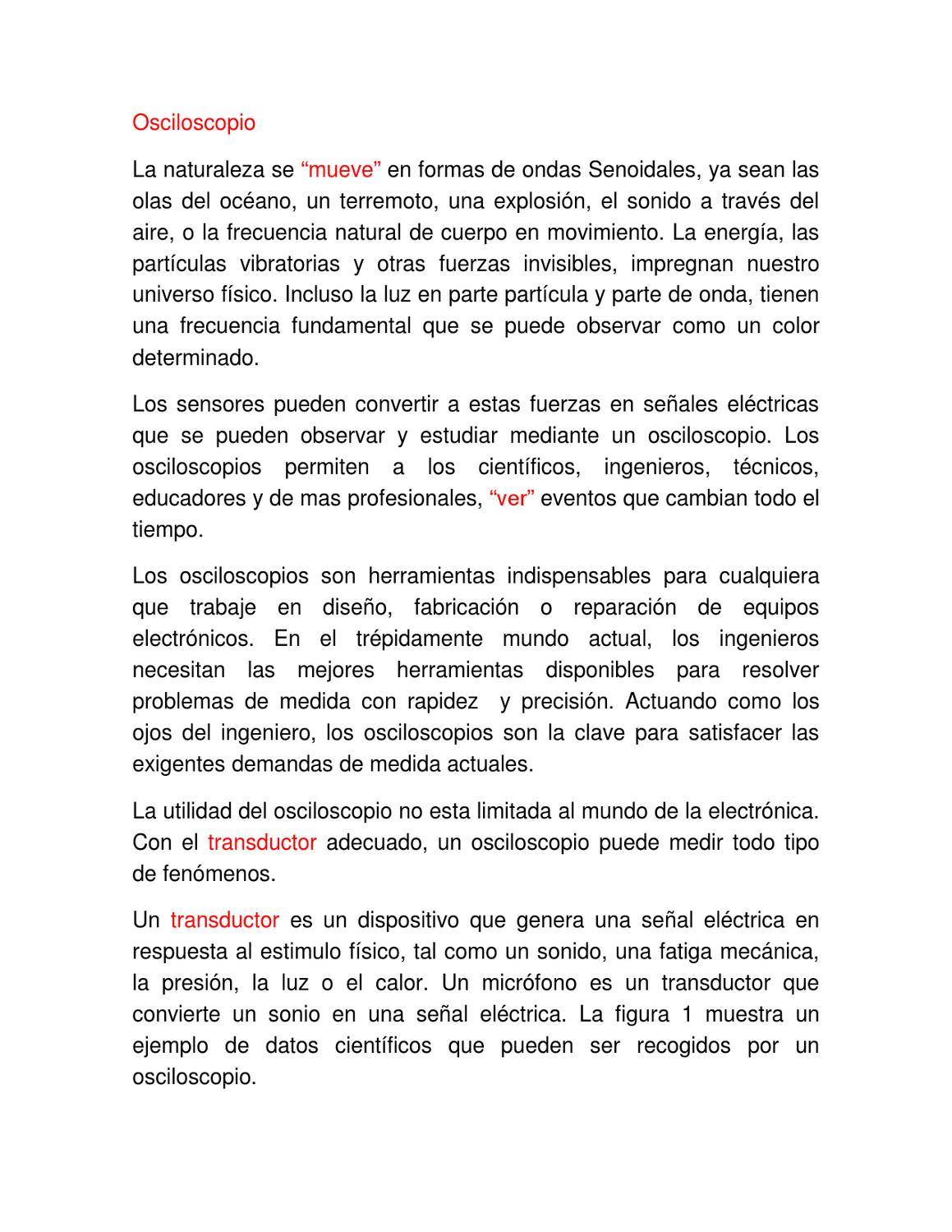 Funcionamiento del Osciloscopio by Gerson Villa Gonzalez - issuu