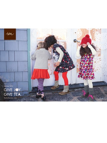 98309c871997 for little citizens of the world 速. Holiday 2012. GIVE JOY. GIVE TEA.  TeaCollection.com