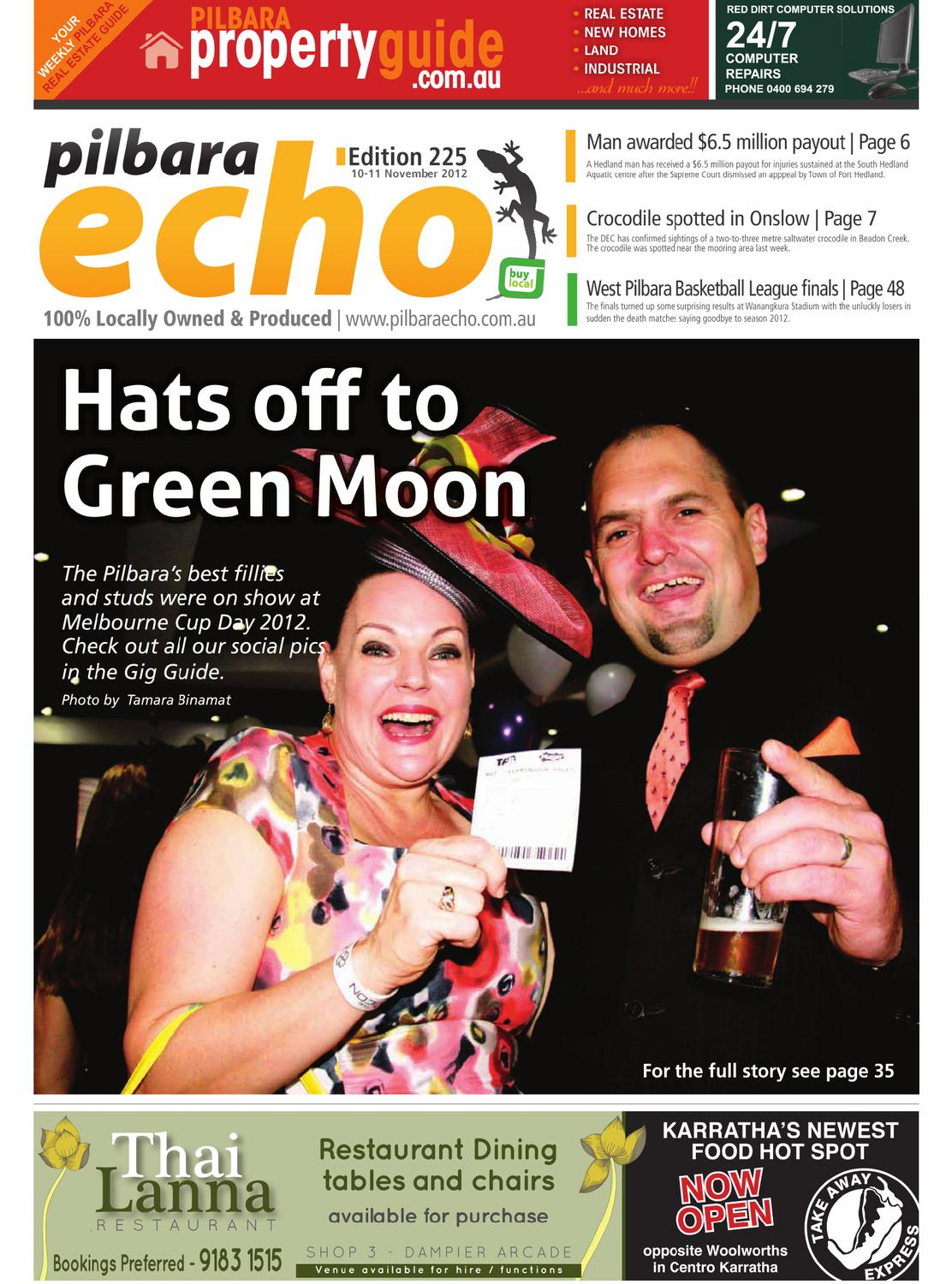 225_echo_10_nov_2012 by Pilbara Echo Newspaper - issuu