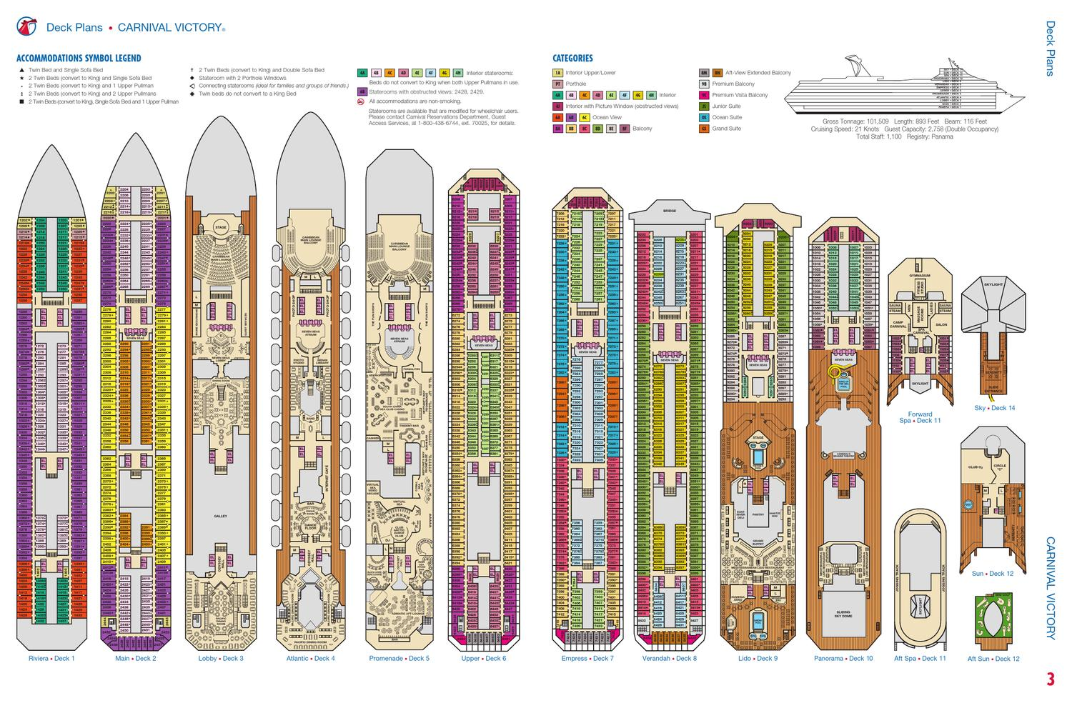 Deck plan for carnival victory by nkotb cruise 2013 issuu jameslax Gallery