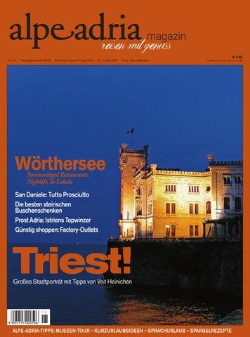 dedf71c88e72 Alpe Adria Magazin - reisen mit Genuss   Nr. 3, Mai 2007 by Alpe ...