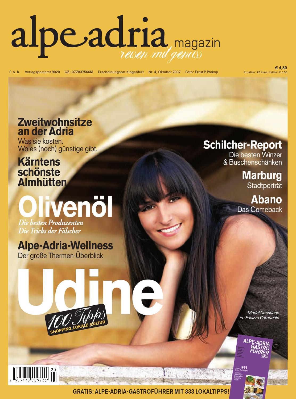 size 40 0d0d2 19a5f Alpe Adria Magazin - reisen mit Genuss   Nr. 4, Oktober 2007 by Alpe Adria  Magazin - issuu