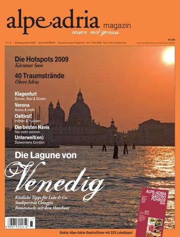 ca45a76c7cadf7 Alpe Adria Magazin - reisen mit Genuss / Nr. 7, Mai 2009 by Alpe ...
